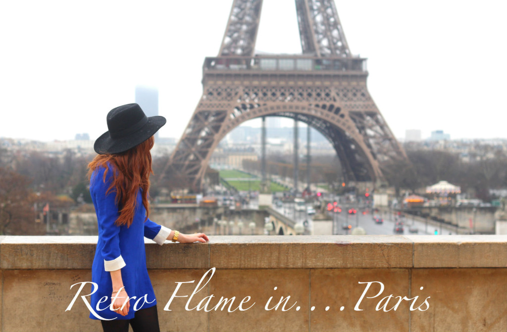 Retro Flame in Paris