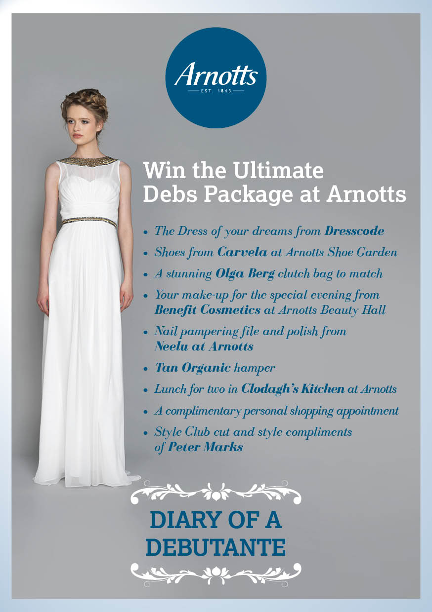 WIN The Ultimate Debs Package at Arnotts