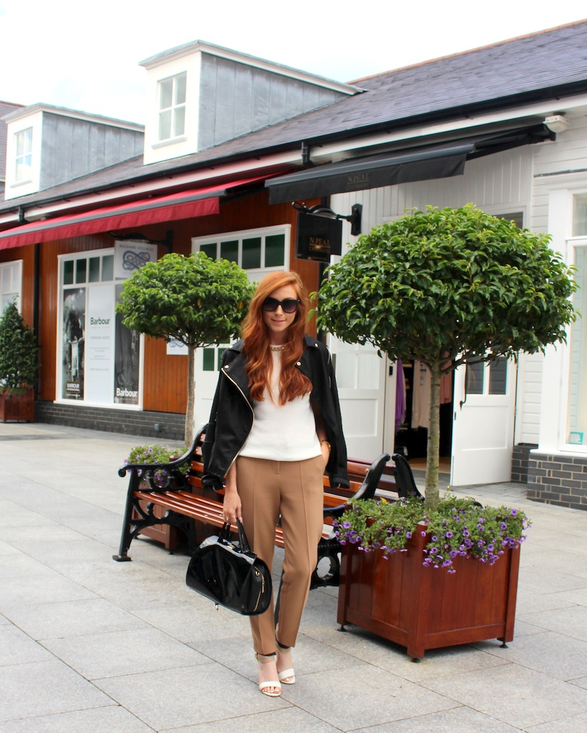 Kildare Village Day Trip to Chic - Retro Flame - Erika Fox