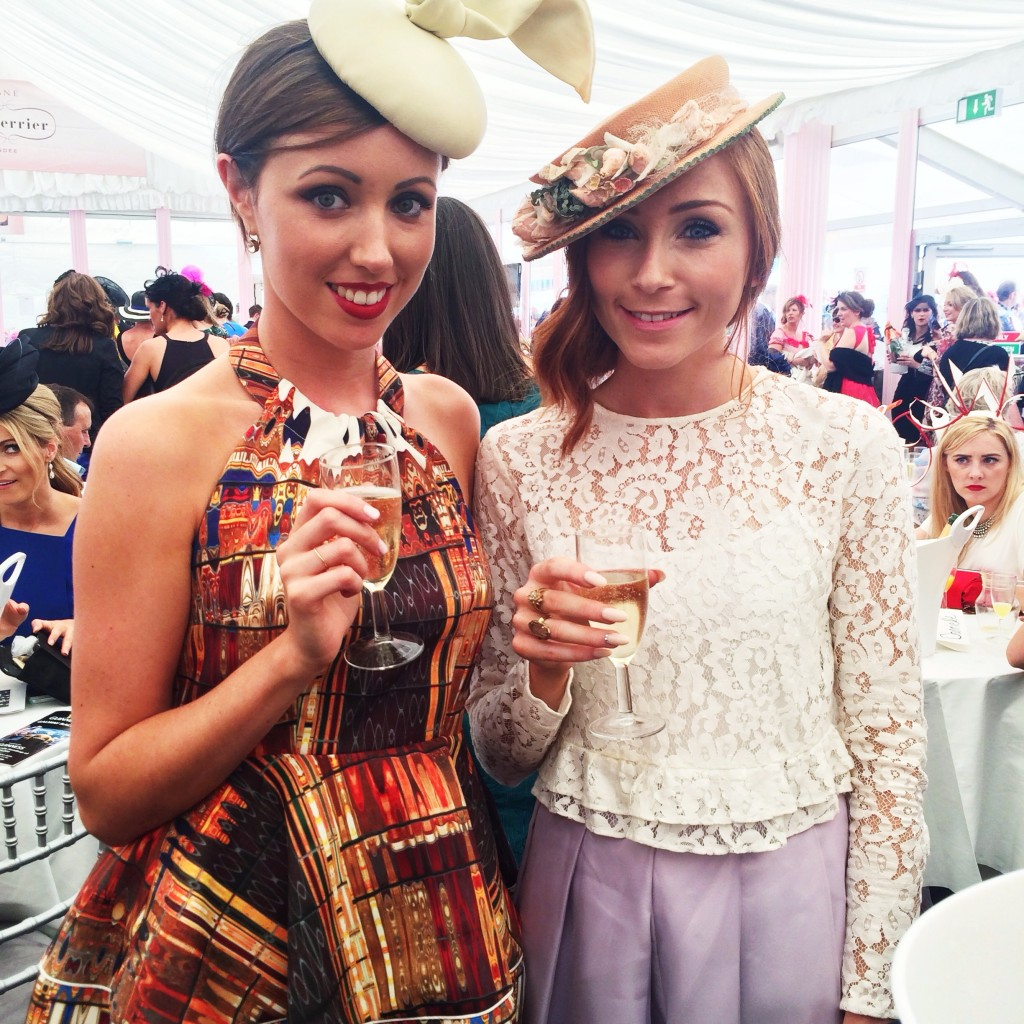 Galway Races Outfits - Erika Fox - Retro Flame