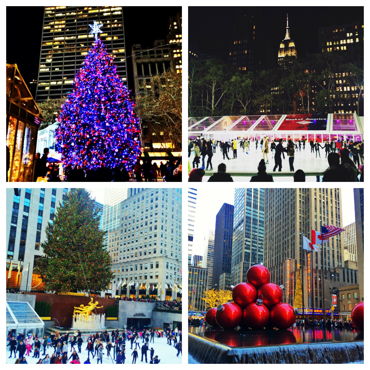 Christmas in New York - Rockerfeller Tree - Fifth Avenue
