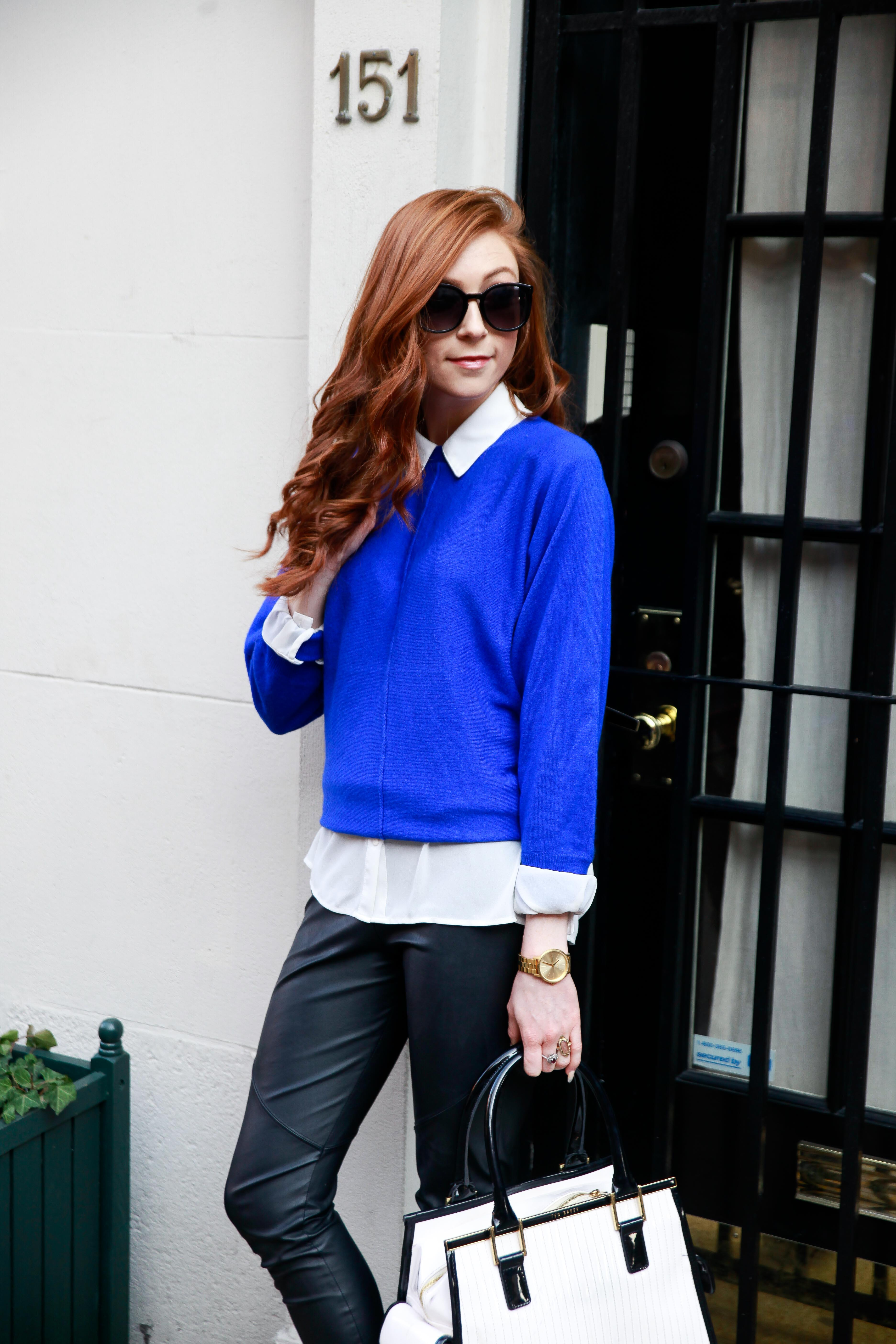 Electric Blue - Park Ave - NYC Style