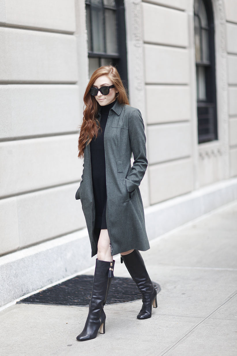 W By Worth - New York Style - Khaki Green Coat