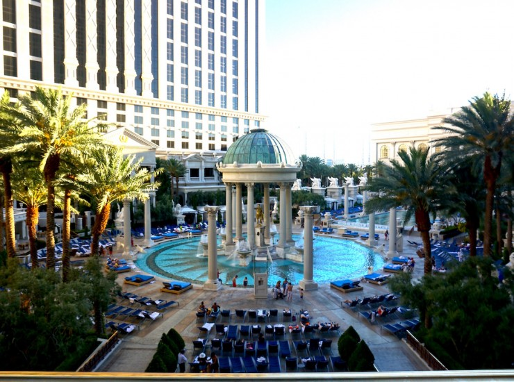 Caesars Palace - My first time in VEGAS