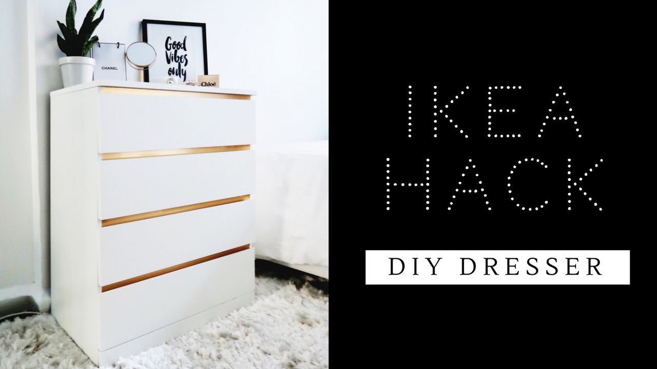 easiest ikea hack ever diy dresser. Black Bedroom Furniture Sets. Home Design Ideas